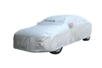 Recaro Car Body Cover Silver Polo Series For Hyundai Santro Xings