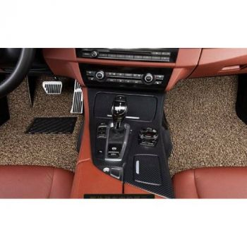 Coozo 18 mm Thick Coil Car Mats : Universal Set Of 5 : Beige Brown