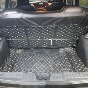 Coozo Car Boot Mat For Tata Altroz: Diamond Series