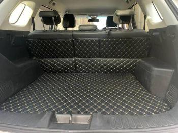 Coozo Car Boot Mat For Toyota Glanza : Diamond Series