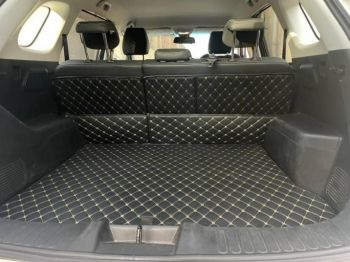 Coozo Car Boot Mat For Jeep Compass 2017 - 2020 : Diamond Series