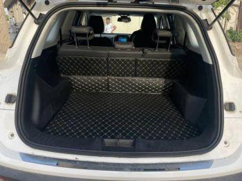 Coozo Car Boot Mat For Hyundai Venue : Diamond Series