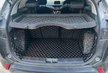 Coozo Car Boot Mat For Tata Safari 7 Seater: Diamond Series