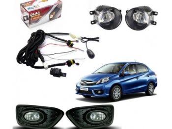 DLAA Fog Lamps Set For Honda Amaze 2016 - 2017