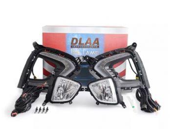 DLAA Fog Lamps Set With DRL For Hyundai Creta 2018 - 2019