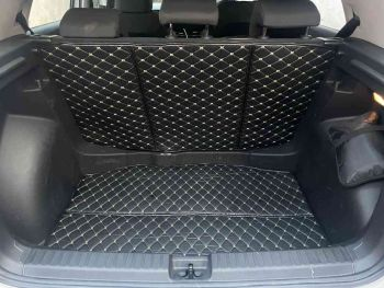 Coozo Car Boot Mat For Skoda Kushaq : Diamond Series