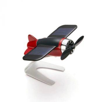Coozo Solar Plane Car Perfume Air Freshener : Red