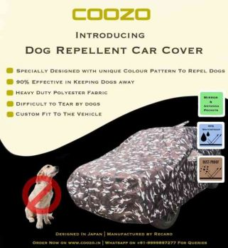 Recaro Ranger Car Body Cover For Hyundai Santro 2018 - 2020: Dog Repellant