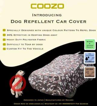 Recaro Ranger Car Body Cover For Volkswagen Polo 2009 - 2013 With Antenna Pocket : Dog Repellant