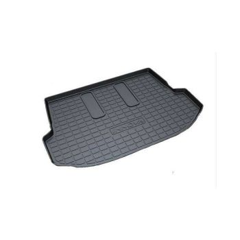 Rubber Trunk Boot Mats For Maruti Suzuki Swift Dzire 2012 - 2016 (Black)