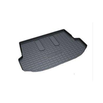 Rubber Trunk Boot Mats For Toyota Innova 2015 - 2017 (Black)