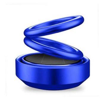 Coozo Solar Car Perfume 360 Degree Rotation Air Freshener : Blue