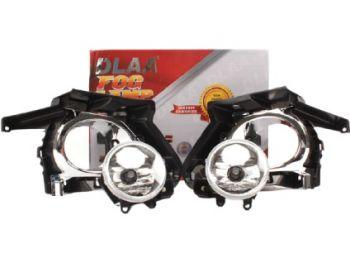 DLAA Fog Lamps Set For Crysta 2018 - 2020 Aluminium Metal Body