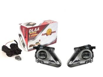 DLAA Fog Lamps With DRL Set For Innova Crysta 2018 - 2020