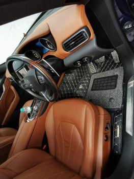 Coozo 7D Car Mats For Ford Figo 2016-2019 (Black)