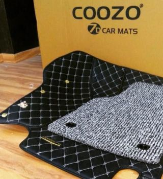 Coozo 7D Car Mats For Renault Duster (Black)