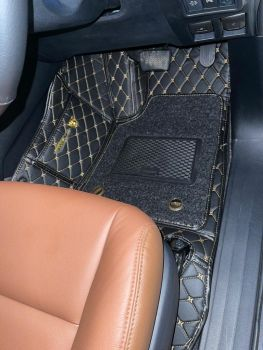 Coozo 7D Car Mats For Toyota Fortuner 2021-2023 (Black)
