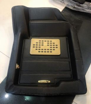 Coozo 4D Plus Car Mats For Tata Tigor ( Black )