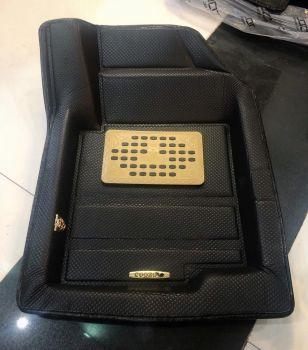 Coozo 4D Plus Car Mats For Kia Sonet ( Black )