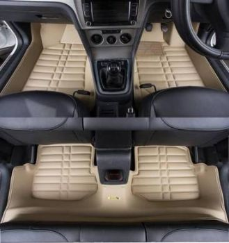 Coozo Yaka Series Car Mats For Toyota Innova Crysta 2021 - 2023 (Beige)
